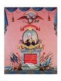 In Praise of George Washington Art Print