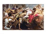 Lapiths and Centaurs Art Print