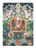 Tanka of Padmasambhava Art Print