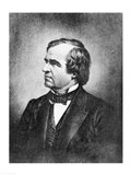 Portrait of Andrew Johnson Art Print