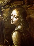 Detail of the Angel, from The Virgin of the Rocks Art Print