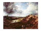 Branch Hill Pond, Hampstead Heath, 1828 Art Print