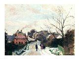 Fox hill, Upper Norwood, 1870 Art Print