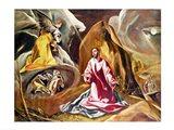 Agony in the Garden of Gethsemane Art Print