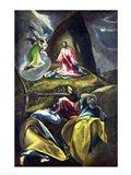 Christ in the Garden of Olives Art Print