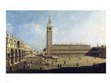 Piazza San Marco, Venice Art Print