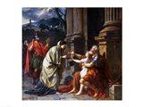 Belisarius Begging for Alms, 1781 Art Print