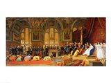 The Reception of Siamese Ambassadors by Emperor Napoleon III Art Print