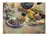 Still Life with Fruit, 1888 Art Print