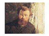 Portrait of Achille Granchi Taylor, 1885 Art Print