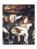 The Garden of Earthly Delights: Hell, triptych right Art Print