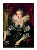 Portrait of Anne of Austria - detail Art Print
