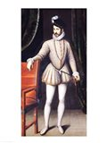 Charles IX King of France Art Print