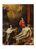 The Vow of Louis XIII King of France and Navarre, 1638 Art Print