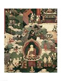 Life of Buddha Sakymuni Art Print