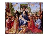 The Festival of the Rosary, 1506 Art Print