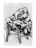 Drapery on a Chair Art Print