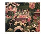 Parinirvana, from 'The Life of Buddha Sakyamuni' Art Print