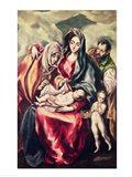 The Holy Family Art Print