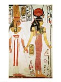 Isis and Nefertari, from the Tomb of Nefertari Art Print