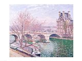 The Pont-Royal and the Pavillon de Flore, 1903 Art Print