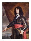 Portrait of Charles II Art Print