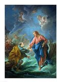 St. Peter Invited to Walk on the Water Art Print
