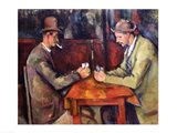The Card Players, 1893-96 Art Print