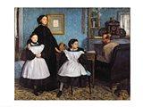 The Bellelli Family Art Print