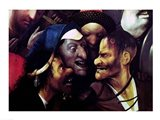 The Carrying of the Cross - close Art Print