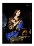 The Penitent Magdalene, 1657 Art Print