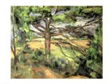 The Large Pine, 1895-97 Art Print