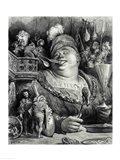 Pantagruel's meal Art Print