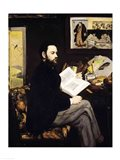 Portrait of Emile Zola Art Print