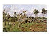 Landscape, Louveciennes Art Print