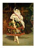 Lola de Valence, 1862 Art Print