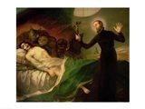 St. Francis Borgia Art Print