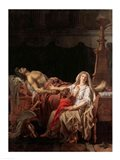 The Pain of Andromache, 1783 Art Print