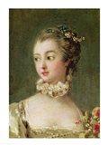 Madame de Pompadour - detail Art Print