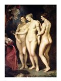 The Medici Cycle: Education of Marie de Medici, detail of the Three Graces Art Print