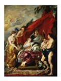 The Birth of Louis XIII Art Print