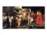 The Coronation of Marie de Medici Art Print