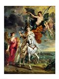 The Medici Cycle: The Triumph of Juliers Art Print