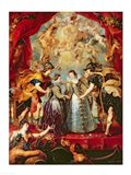 The Medici Cycle: Exchange of the Two Princesses of France and Spain Art Print
