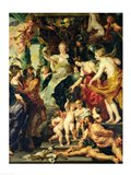 The Felicity of the Regency, 1621-25 Art Print