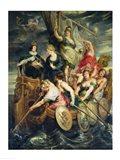 The Majority of Louis XIII Art Print