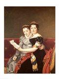 Zenaide and Charlotte Art Print