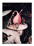 The Garden of Earthly Delights: Hell, right side of triptych, c.1500 Art Print