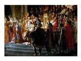 The Consecration of the Emperor Napoleon and the Coronation of the Empress Josephine, Throne Detail Art Print