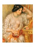 Gabrielle with Jewellery, 1910 Art Print